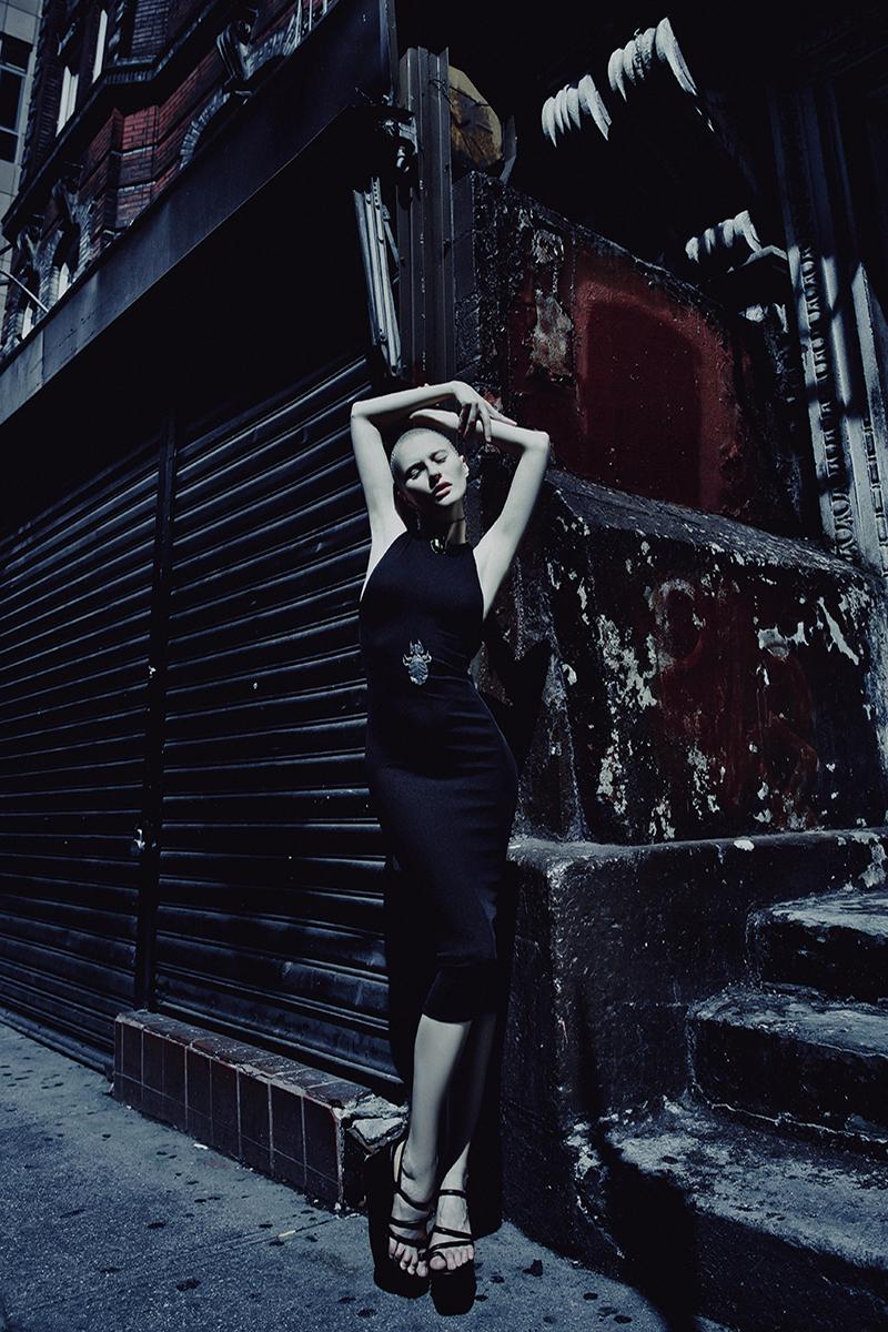 dress&shoes — H&M / accessory — Bottega Veneta