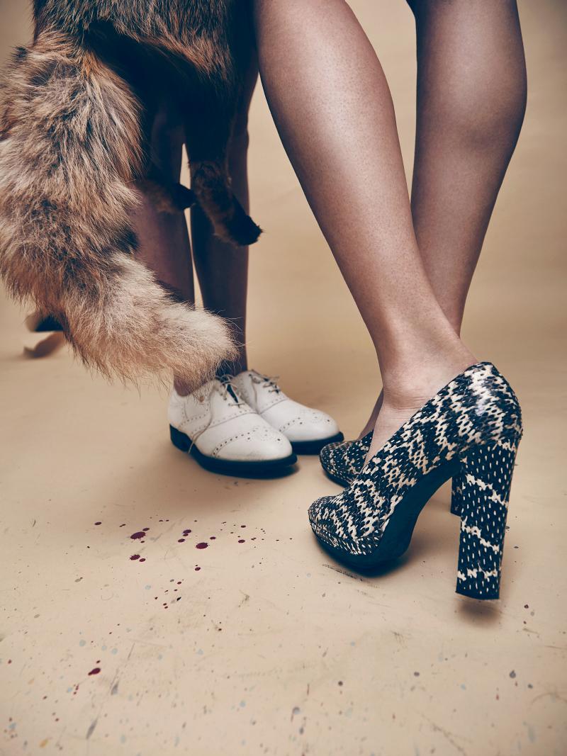 Shoes: Vintage Lanvin, Golf shoes: Foot Joy